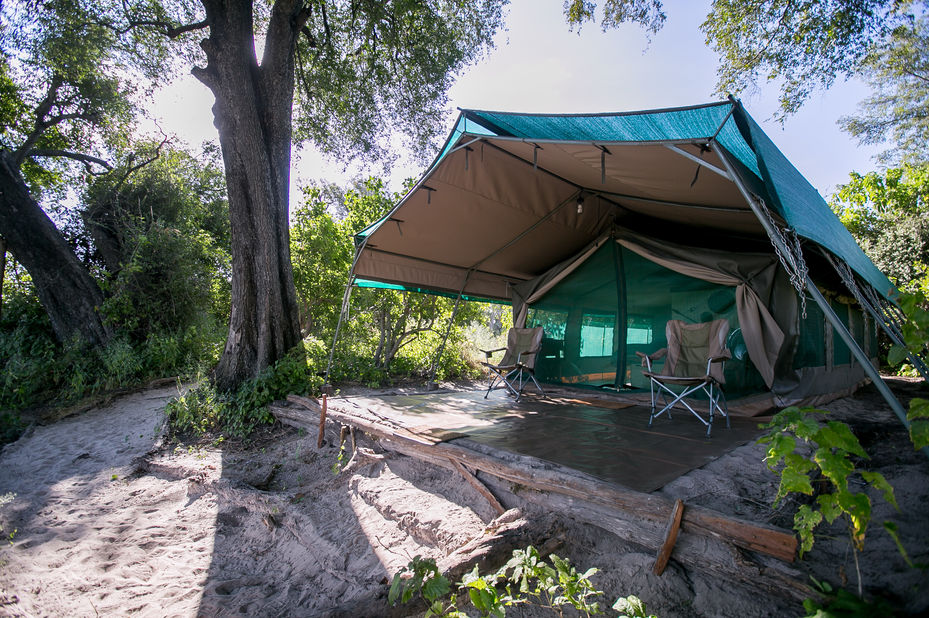 Bushman Plains Camp - tent - Okavango Delta - Bostwana - foto: Bushman Plains Camp
