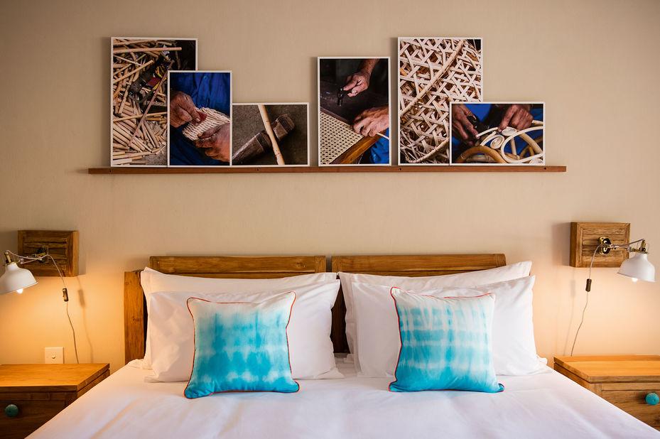 C Mauritius - slaapkamer - oostkust Mauritius - foto: C Mauritius