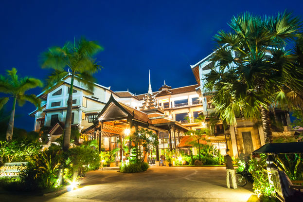 Cambodja - Siem Reap - Saem Siemreap Hotel - buitenkant - foto: Saem Siemreap Hotel