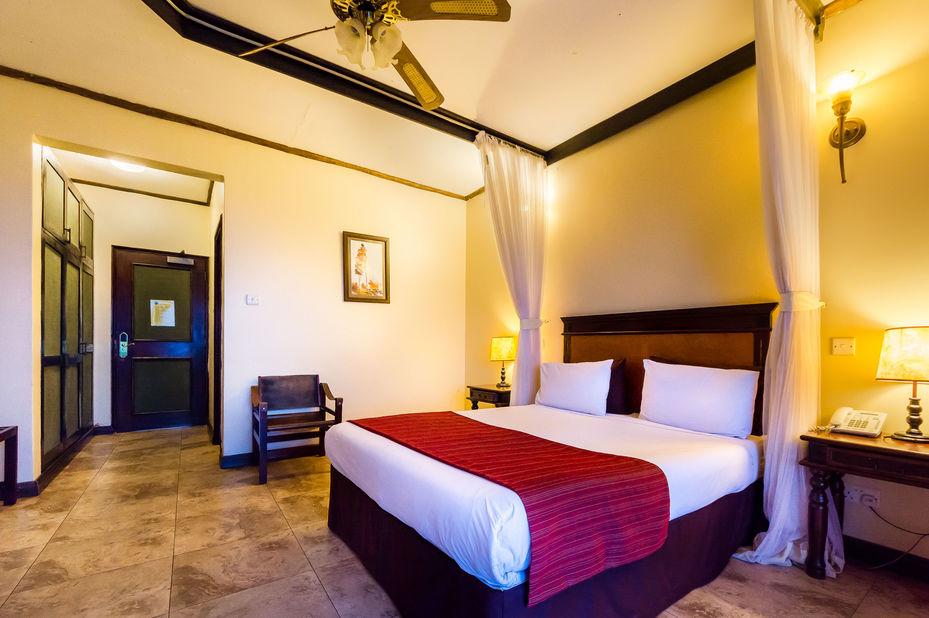 Cassia Lodge - Kampala - kamer - Oeganda - foto: Cassia Lodge