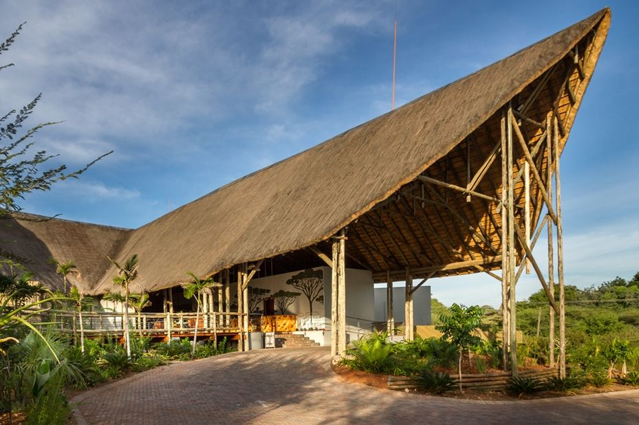 Chobe Bush Lodge - entree - Kasane - Botswana - foto: Chobe Bush Lodge