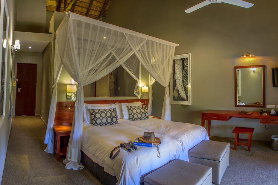 Chobe Bush Lodge - interieur - Kasane - Botswana - foto: Chobe Bush Lodge