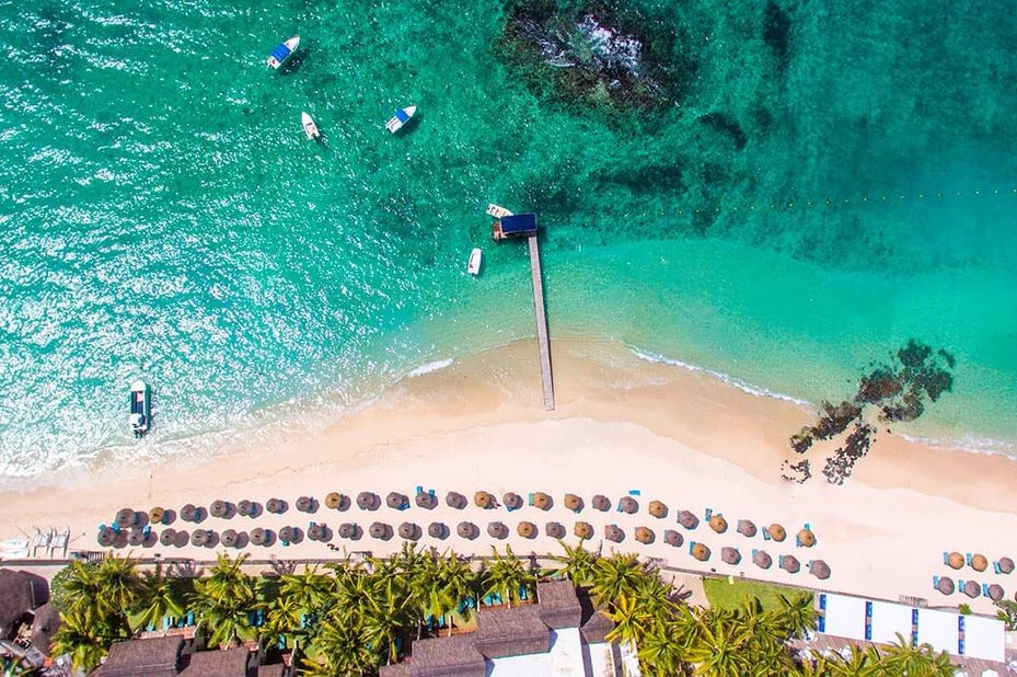 Constance Belle Mare - aerial - Mauritius