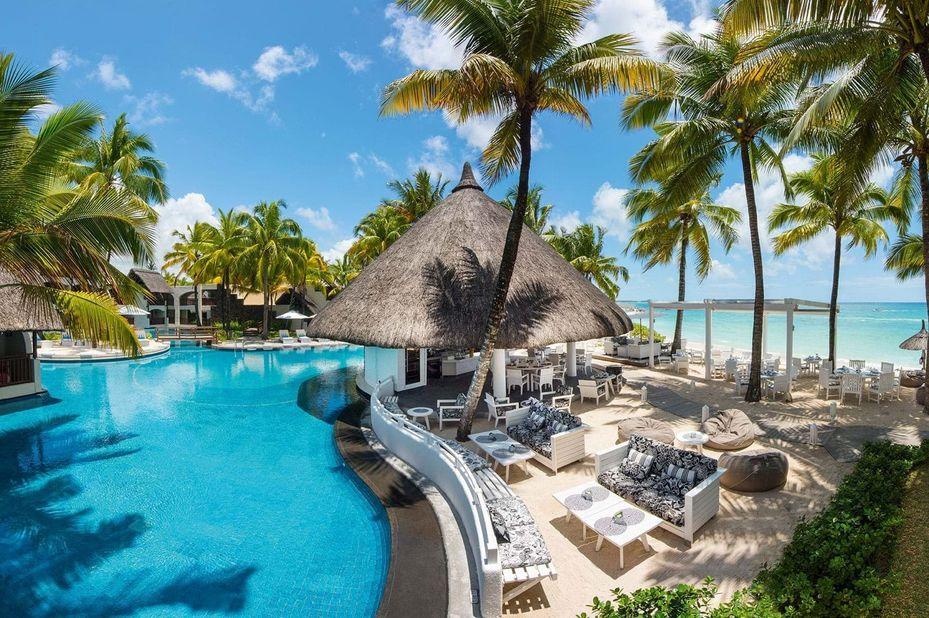 Constance Belle Mare -  beachfront - zwembad - Mauritius