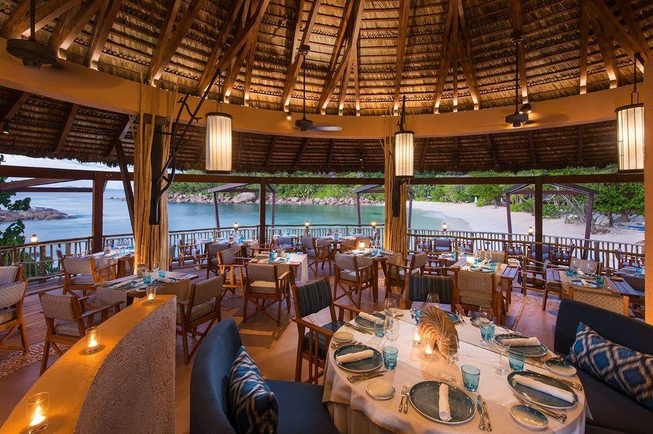 Constance Lemuria Resort - Nest Restaurant - Praslin - Seychellen - foto: Constance Lemuria