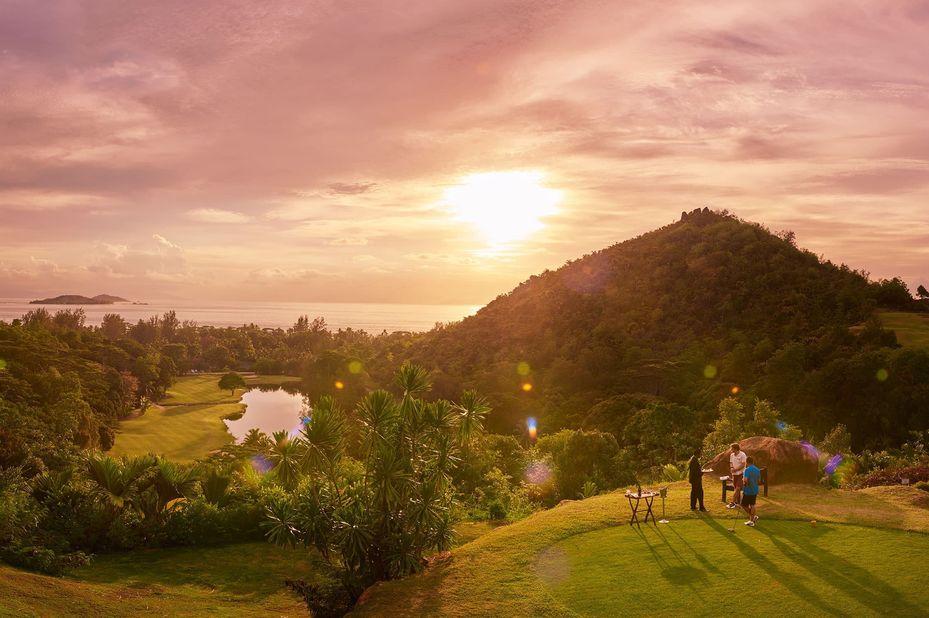Constance Lemuria Resort - golf - Praslin - Seychellen - foto: Constance Lemuria