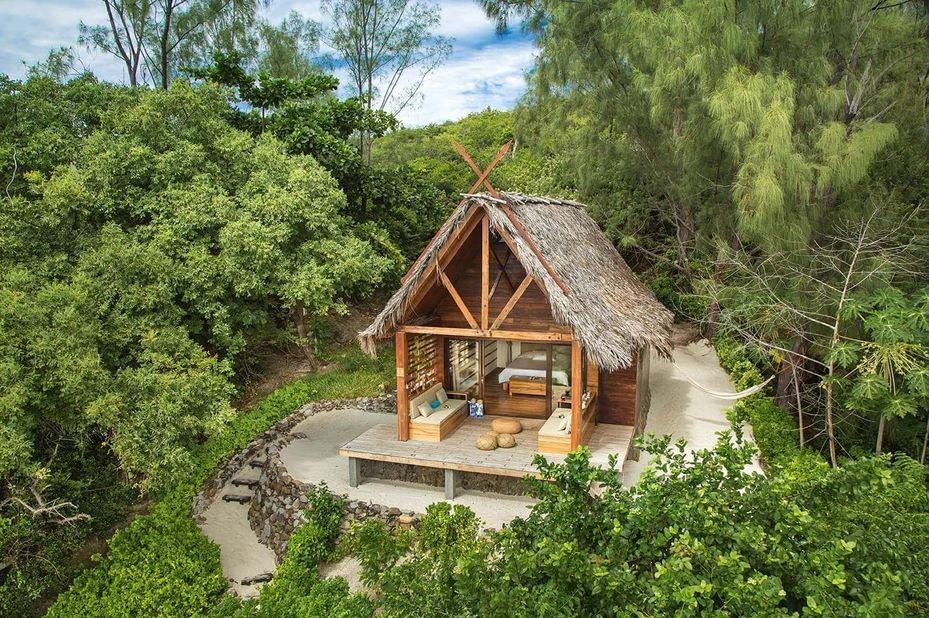 Constance Tsarabanjina Lodge - bungalow - Madagaskar - foto: Constance Tsarabanjina Lodge