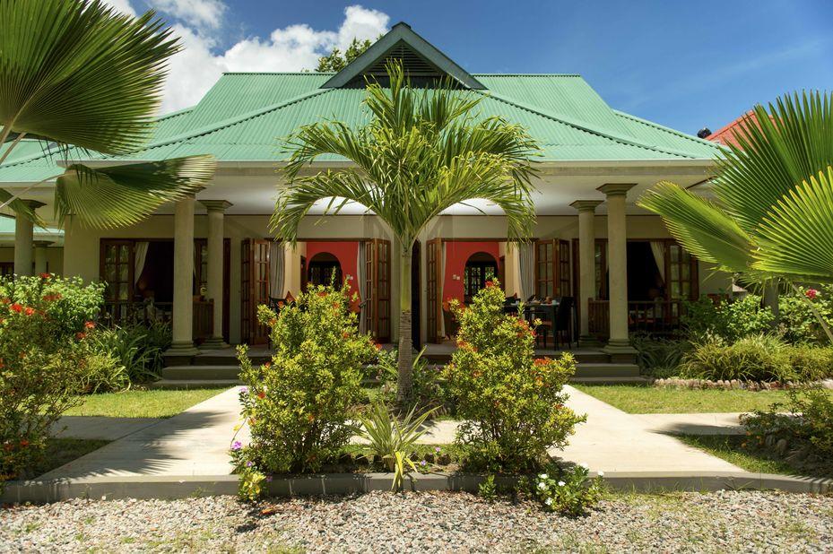 Cote dOr Chalets - exterior - Praslin - Seychellen - foto: Cote dor Chalets