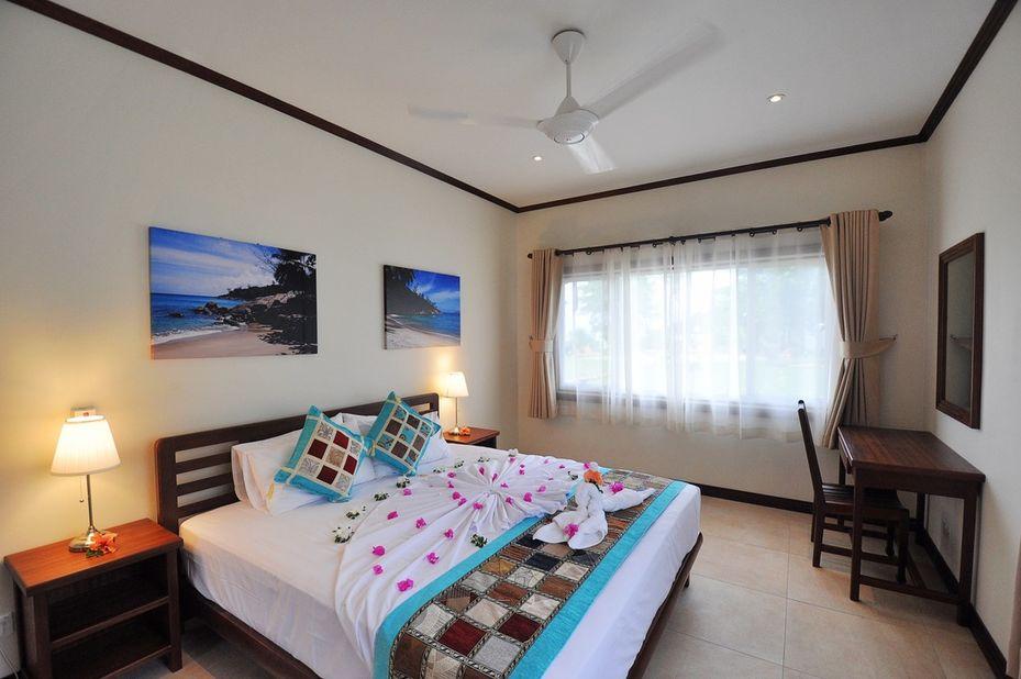 Cote dOr Footprints - slaapkamer - Praslin - Seychellen - foto: Footprints