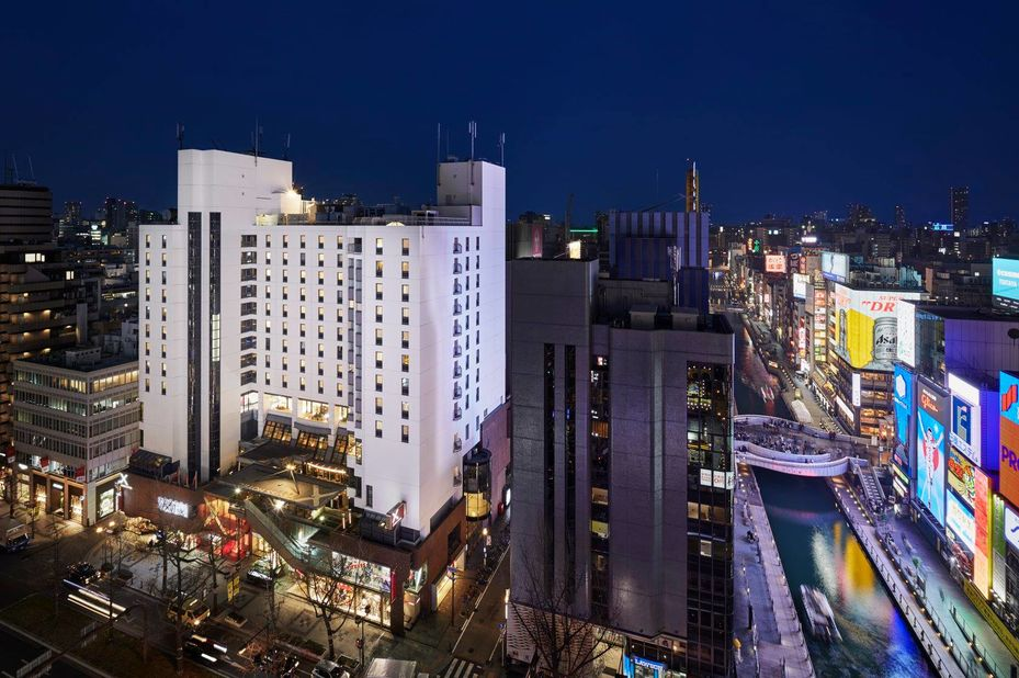 Cross Hotel Osaka - buitenkant - Osaka - Japan - foto: Cross Hotel