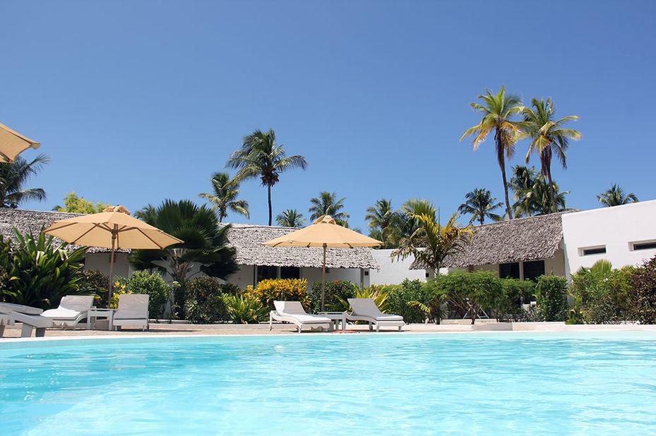 Dhow Inn Paje Beach - zwembad - Zanzibar - Tanzania - foto: Dhow Inn Paje Beach