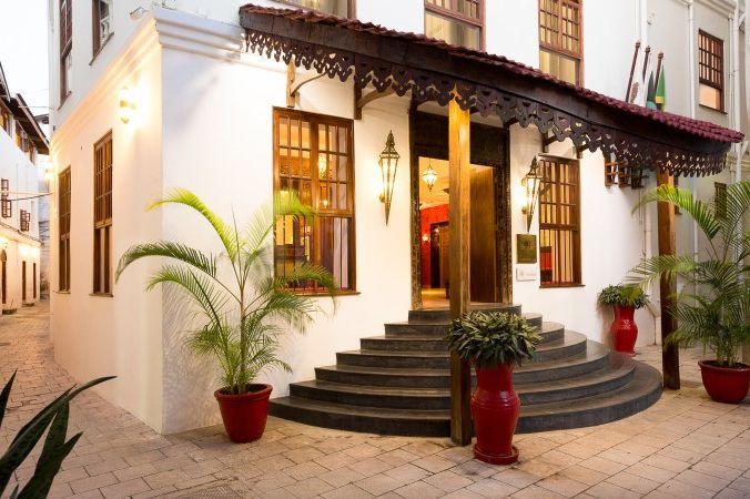 Double Tree Resort by Hilton Hotel - Stonetown -entree -Zanzibar - foto: DoubleTree Resort by Hilton Hotel Stonetown