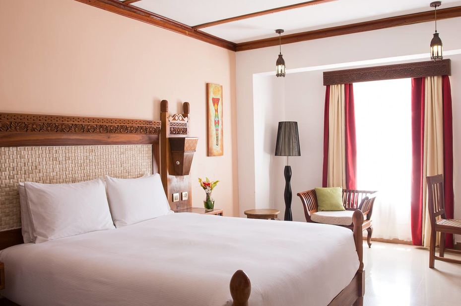 Double Tree Resort by Hilton Hotel - Stonetown - kamer -Zanzibar - foto: DoubleTree Resort by Hilton Hotel Stonetown