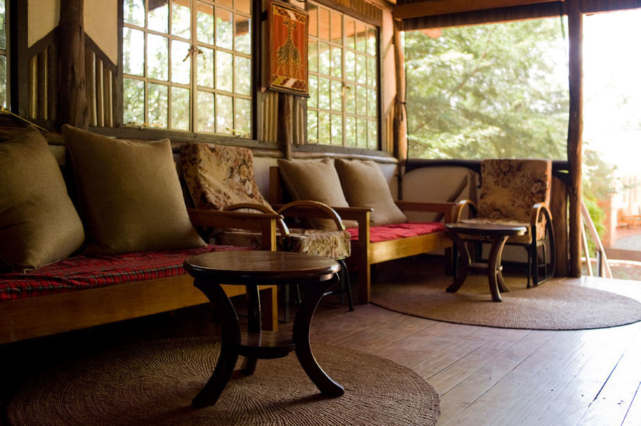 Eileen's Tree Inn - lounge -  Ngorongoro Highlands - Tanzania - foto: Eileen's Tree Inn
