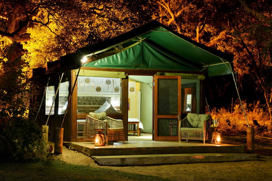 Elephant Valley Lodge - forest tent - Chobe - Botswana - foto: Elephant Valley Lodge
