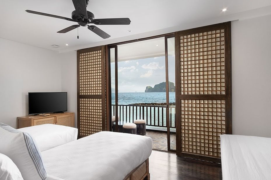 Filipijnen - El Nido Resorts - Miniloc Island -Deluxe Seaview Room - copyright: El Nido Resorts - foto: El Nido Resorts Miniloc Island