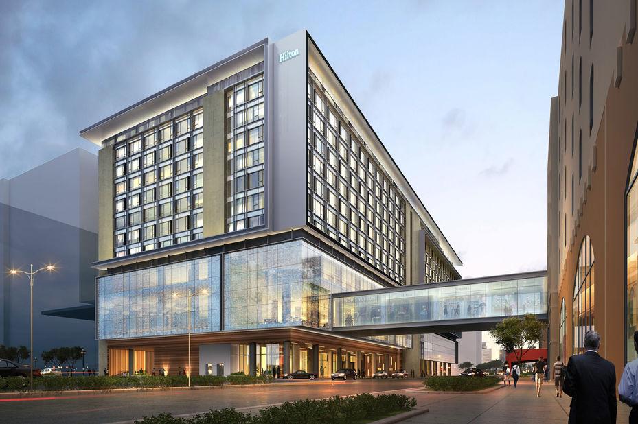 Filipijnen - Hilton Manila - buitenkant - foto: Hilton Manila