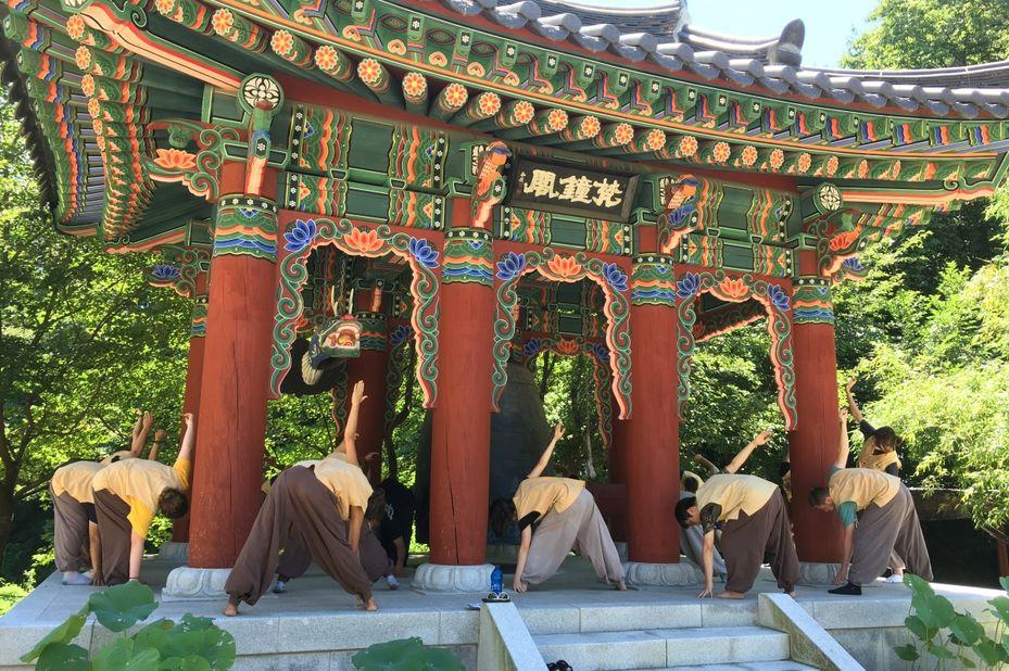 Golgulsa Tempelverblijf, Gyeongju, Zuid-Korea - foto: Golgulsa Tempelverblijf