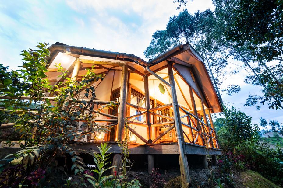 Gorilla Safari Lodge - omgeving - Bwindi - Oeganda - foto: Gorilla Safari Lodge