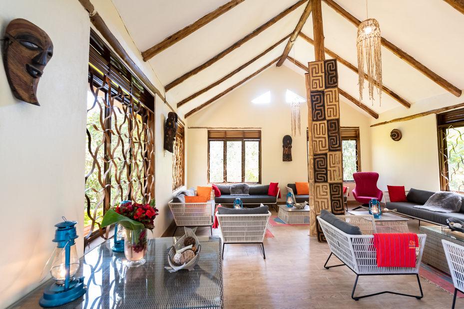 Gorilla Safari Lodge - restaurant - Bwindi - Oeganda - foto: Gorilla Safari Lodge