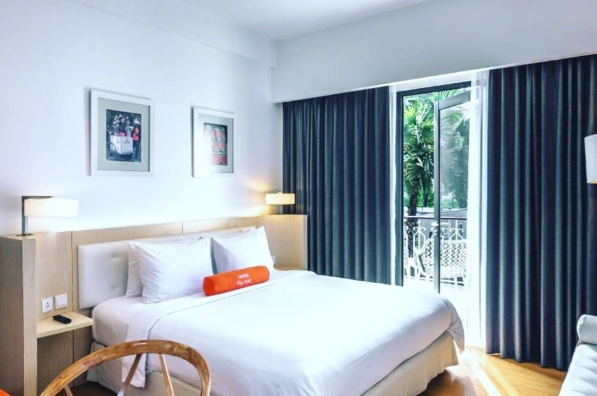 HARRIS Hotel Malang - terrace room -Malang - Indonesie - foto: HARRIS Hotel Malang