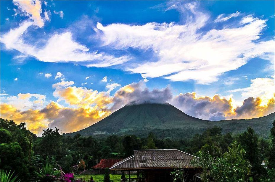 Highland Resort Tomohon - Lokon -Tomohon - Sulawesi - Indonesie - foto: Highland Resort Tomohon