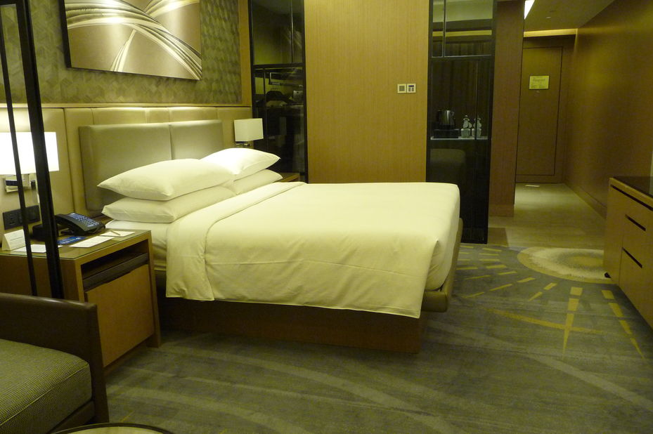 Hilton Manila - kamer - Manila - Filipijnen - foto: Floor Ebbers