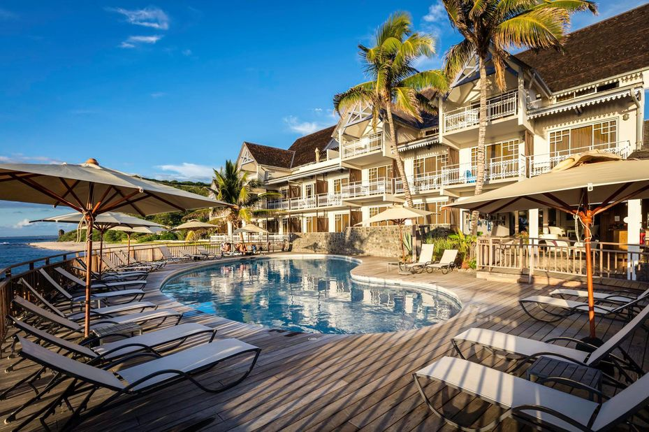 Hotel Boucan Canot - zwembad - Saint Gilles les Bains - Reunion - foto: Hotel Boucan Canot