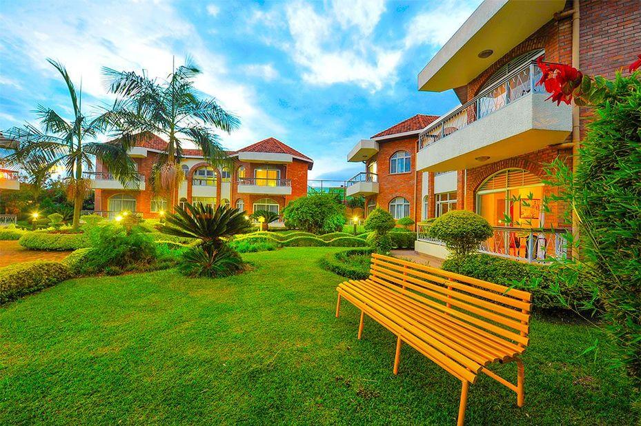Hotel Chez Lando - exterior - Kigali - Rwanda - foto: Hotel Chez Lando