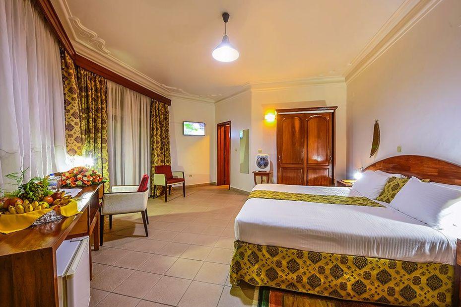 Hotel Chez Lando - kamer - Kigali- Rwanda - foto: Hotel Chez Lando