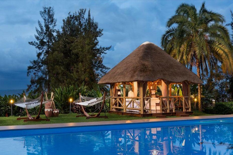 Hotel Des Mille Collines - gazebo - Kigali - Rwanda - foto: Hotel Des Mille Collines