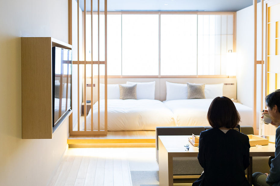 Hotel Kanrya Kyoto - kamer - Kyoto -Japan - foto: Hotel Kanra Kyoto
