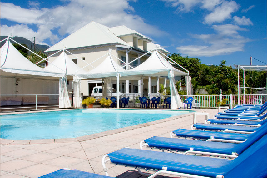 Hotel La Fournaise - zwembad - Sainte Rose - Reunion - foto: Hotel la Fournaise