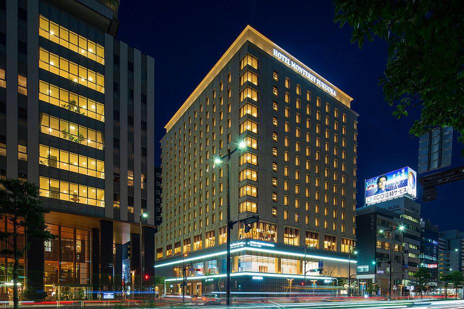 Hotel Monterey Fukuoka - buitenaanzicht - Fukuoka - Japan - foto: Hotel Monterey Fukuoka