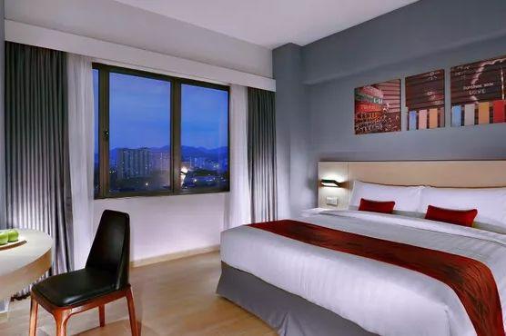 Kamer van Hotel NEO+ in Penang - Maleisië - foto: Hotel Neo+ Penang