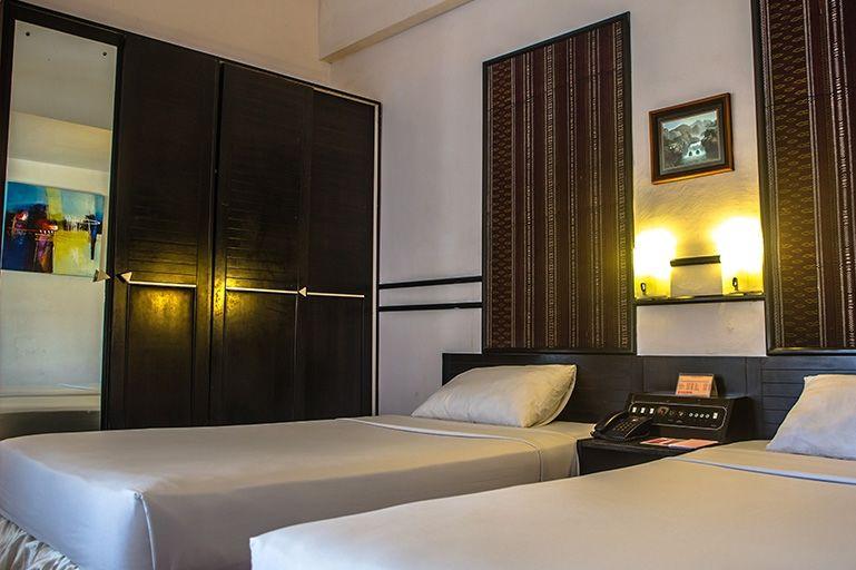 Hotel Sibayak Internasional - deluxe -kamer - Berastagi - Sumatra - Indonesie - foto: Hotel Sibayak Internasional