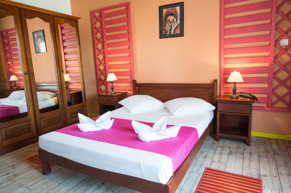 Hotel des Neiges - kamer -interieur - Cilaos - Reunion - foto: Hotel des Neiges
