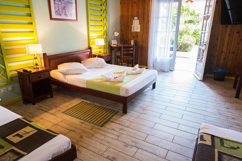 Hotel des Neiges - kamer - interieur - Cilaos - Reunion - foto: Hotel des Neiges