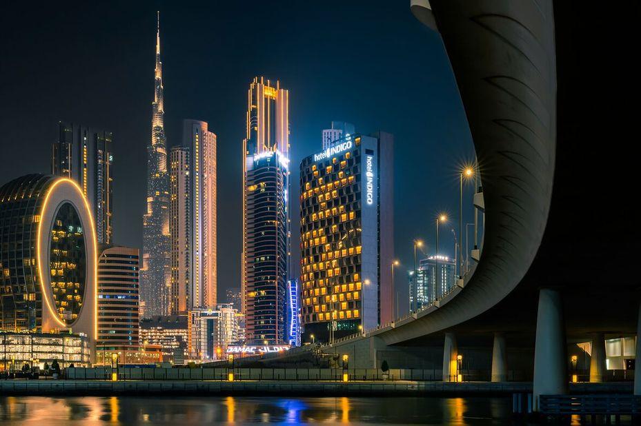 Hotel Indigo - Buitenaanzicht - Dubai - Azie - foto: Hotel Indigo Dubai Downtown