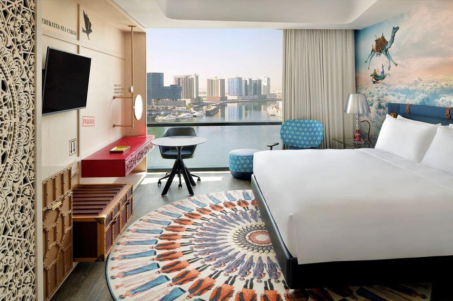 Hotel Indigo - Standard room - Dubai - Azie - foto: Hotel Indigo Dubai Downtown