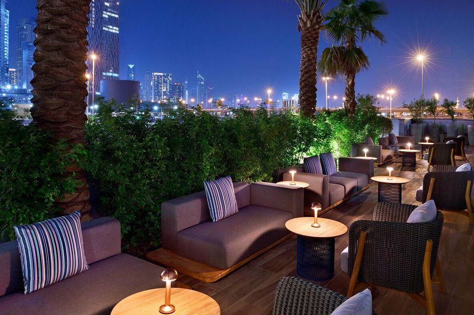 Hotel Indigo - Terras - Dubai - Azie - foto: Hotel Indigo Dubai Downtown