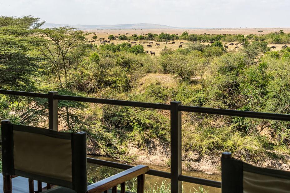 Ilkeliani Camp - uitzicht - Masai Mara - Kenia - foto: Ilkeliani Camp