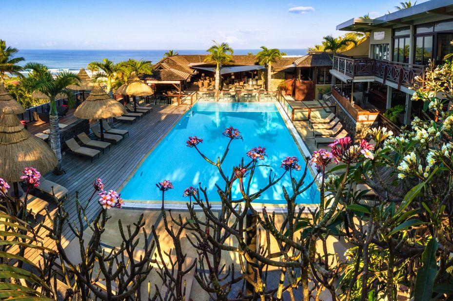 Iloha Seaview Hotel - zwembad - Saint Leu - Réunion - foto: Iloha Seaview