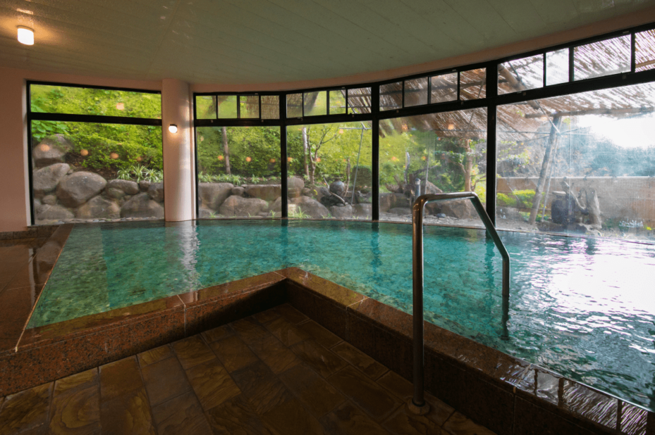 Japan - Iki Island - Iki Stellacote Taiankaku - hotspring - foto: Iki Stellacote Taiankaku