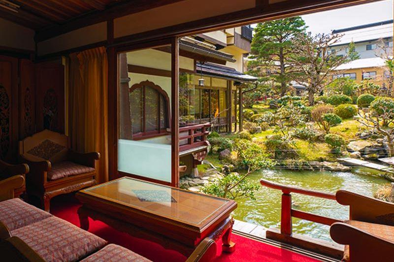 Japanse Stijl - Kamer - Sekishoin - Koyasan -Mount Koya - Japan - foto: Sekishoin