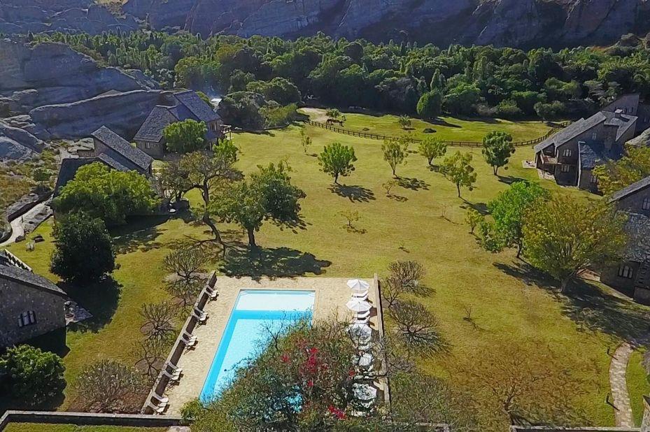 Jardin du Roy - hotel - Isalo - Madagaskar - foto: Jardin du Roy