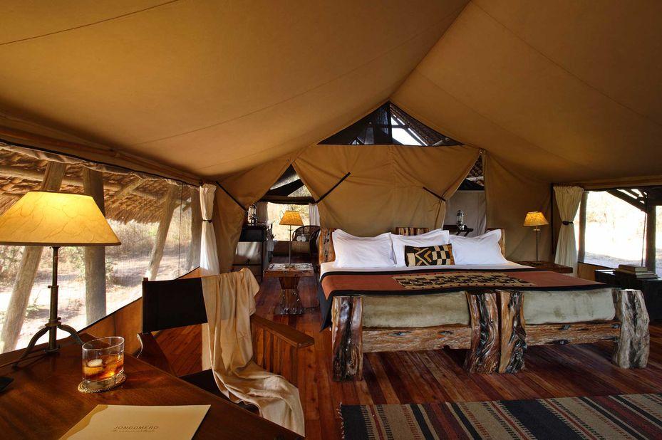 Jongomero Camp - tent - Ruaha National Park -Tanzania - foto: Jongomero Camp