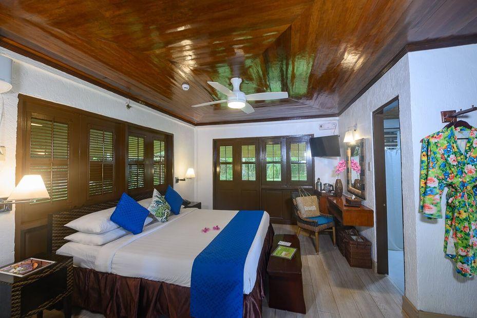 Junior suite - Daluyon Beach and Mountain Resort - Palawan - Sabang - Filipijnen - foto: Daluyon Beach and Mountain Resort