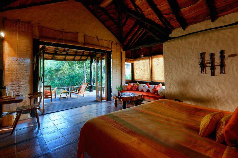 Kanha Earth Lodge - kamer - Kanha - India - foto: Kanha Earth Lodge