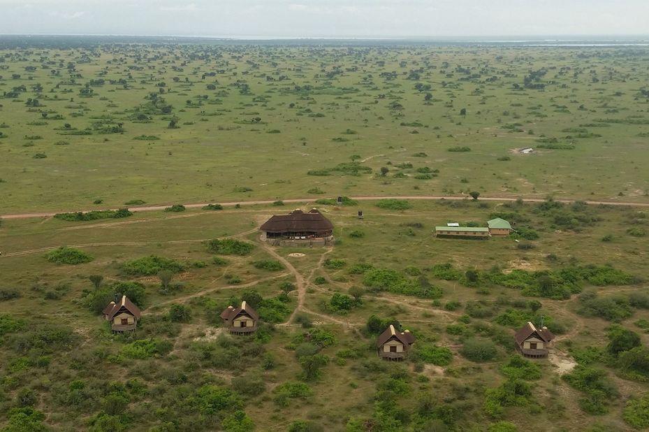 Kasenyi Safari Camp - omgeving - Queen Elizabeth - Oeganda - foto: Kasenyi Safari Camp
